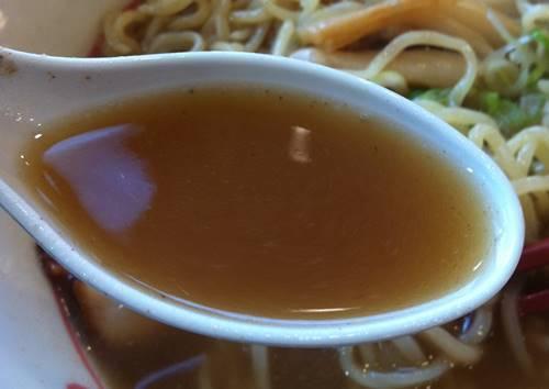幸楽苑 煮干ラーメン(あっさり)スープ.JPG