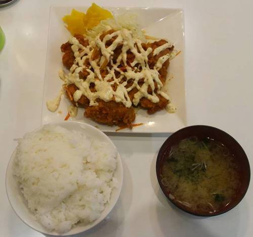 情熱食堂 チキン南蛮L定食.JPG