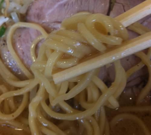 支那そば 一力 味噌ラーメン 麺.JPG