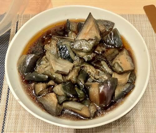 本場帯広 十勝豚丼専門店 㐂久好 惣菜バイキング 茄子の煮びたし.jpg