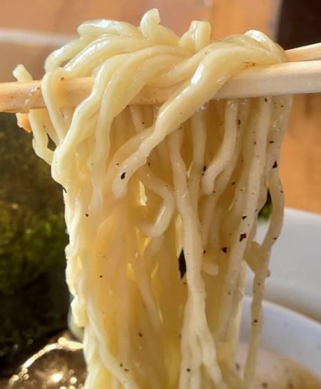 椿ラーメンショップ 醤油ラーメン 麺.jpg