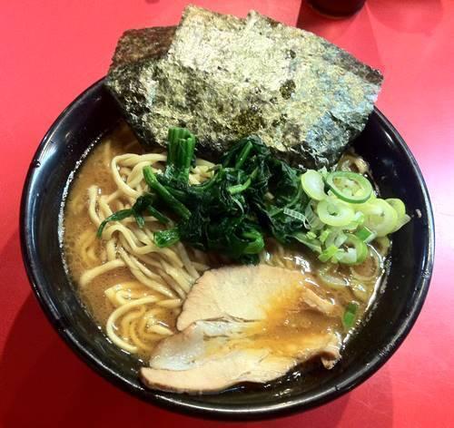 横浜ラーメン とんこつ家 味噌豚骨ラーメン.JPG