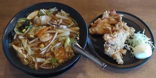 武骨家 五目麺&唐揚げ.JPG
