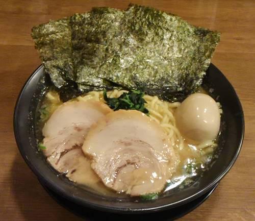 武骨家 醤油とんこつSPラーメン.JPG