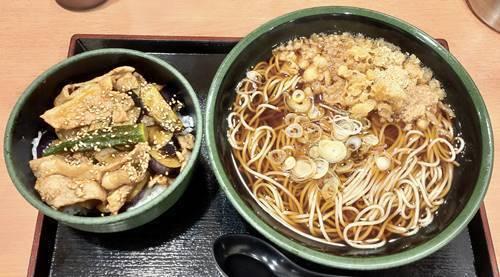 江戸切りそば ゆで太郎 ミニ肉茄子丼セット.jpg