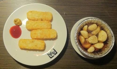 牛角 ハッシュドポテト&にんにくホイル焼き.JPG