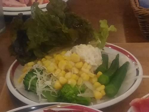 すたみな太郎 サラダ