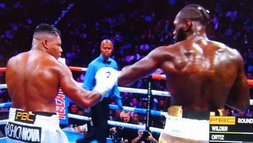 WBC世界ヘビー級タイトルマッチ デオンテイ・ワイルダーvsルイス・オルティス 第2戦.JPG